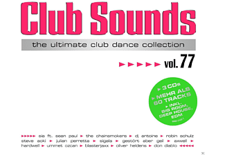 VARIOUS - Club Sounds, Vol.77 - (CD)
