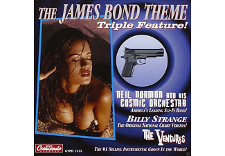 Billy Strange, The Ventures, Neil & His Cosmic Orchestra Norman - The James Bond Theme (Triple Feature!) - (Maxi Single CD)