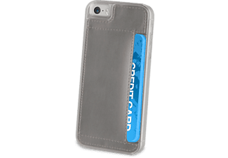 MUVIT Cover Crystal Card iPhone 5s/se Argenté (MUCRY0107)