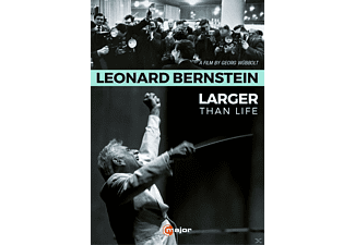 Leonard Bernstein - Larger than Life - (DVD)