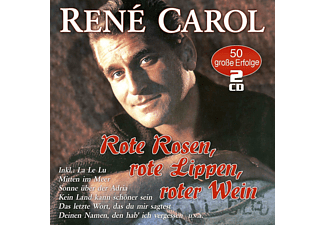 René Carol - Rote Rosen,Rote Lippen,Roter Wein-50 Erfolge - (CD)
