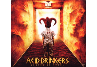 Acid Drinkers - Verses Of Steel - (CD)