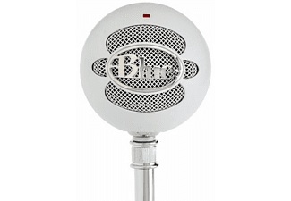 BLUE MIC Snowball Textured White