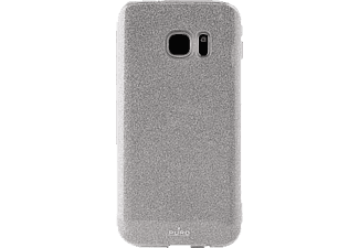 PURO PU170973 Backcover Samsung Galaxy S7 Polycarbonat/Thermoplastisches Polyurethan Silber