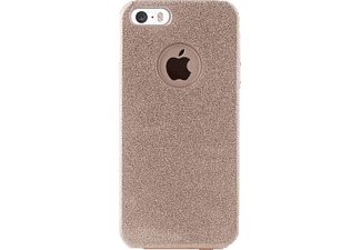 PURO Shine Collection Backcover Apple iPhone 5, iPhone 5s, iPhone SE Polycarbonat/Thermoplastisches Polyurethan Gold
