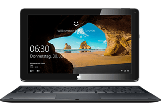 ODYS UNITY WIN 12, Convertible mit 11.6 Zoll Display, Atom™ Prozessor, 2 GB RAM, 32 GB Flash, Intel® HD-Grafik, Schwarz