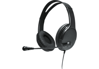 LUCID SOUND AdjustR mit, Stereo-Headset, Schwarz