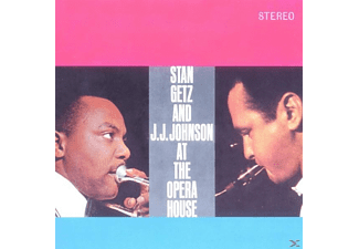 GETZ,STAN & JOHNSON,J.J. - At The Opera House - (CD)