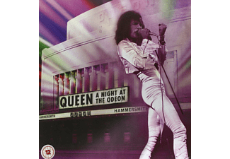 "Queen - A Night At The Odeon – Hammersmith 1975 (Limited Super Deluxe Edition) (CD+DVD+SD Blu-ray+12""Single) - (CD + Blu-ray Disc)"