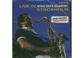 Stan Getz Quartet - Live in Stockholm 1978 (CD)