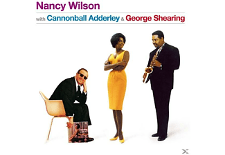 Nancy Wilson - With Cannonball Adderly & George Shearing - (CD)