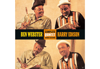 Ben Webster, Sweets Edison - Complete Quintet Studio Sessio - (CD)