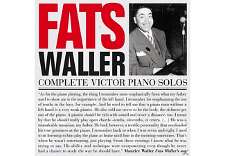 Fats Waller - Complete Victor Piano Solos - (CD)