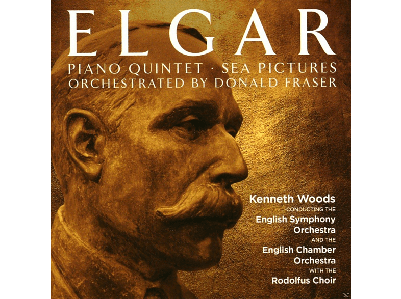 Kenneth Woods - Piano Quintet/Sea Pictures [CD]