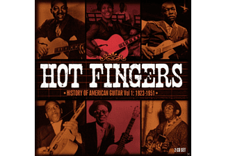 VARIOUS - Hot Fingers-History Of American Guitar Vol.1 - (CD)