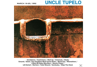 Uncle Tupelo - March 16-20,1992 - (Vinyl)