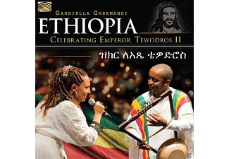 Gabriella Ghermandi - Ethiopia-Celebrating Emperor Tewodros II - (CD)