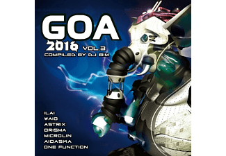 VARIOUS - Goa 2016 Vol. 3 - (CD)