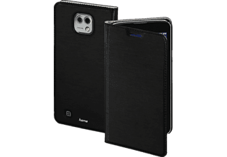 Slim Bookcover LG X Cam High-Tech-Polyurethan Schwarz