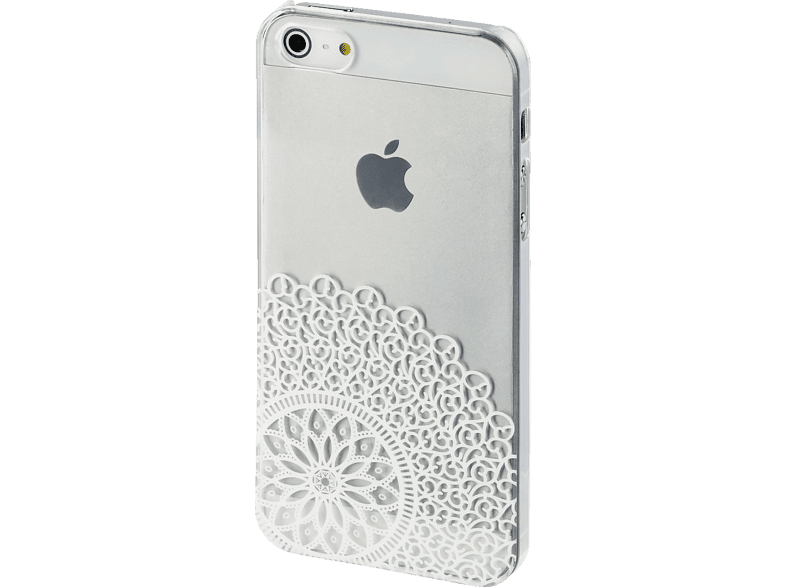 HAMA  Boho Dance Backcover Apple iPhone 5, iPhone 5S, iPhone SE Kunststoff Transparent/Weiß | 04047443319500