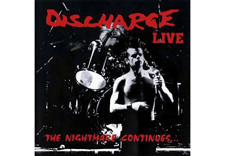 Discharge - The Nightmare Continues - (Vinyl)