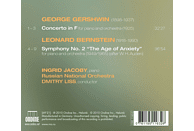 Ingrid Jacoby, Russian National Orchestra - JACOBY: Gershwin/Bernstein [CD]