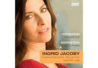Ingrid Jacoby, Russian National Orchestra - JACOBY: Gershwin/Bernstein - (CD)