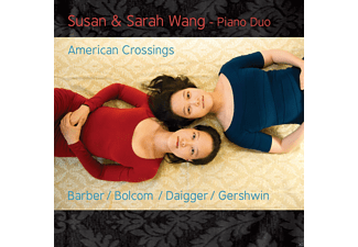 Susan & Sarah Wang - American Crossings - (CD)