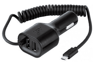 ISY Car Charger Dual USB 4.2A & Micro USB 2.1A - ICC 5000