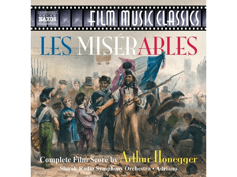 VARIOUS, Adriano & Srso - Les Miserables [CD]
