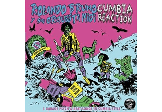Rolando Bruno - CUMBIA REACTION - (Vinyl)