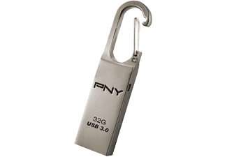 PNY Loop Attaché, USB-Stick, USB 3.0, 32 GB