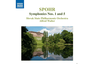 Alfred Walter, Slovak State Philharmonic Orchestra - Sinfonien 1+5 - (CD)