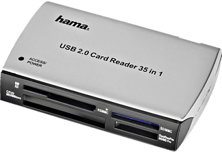 HAMA 49009 65 in1 Card Reader/Writer, USB 2.0