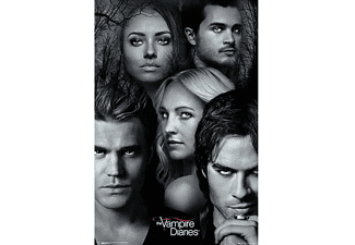 The Vampire Diaries Poster Charaktere