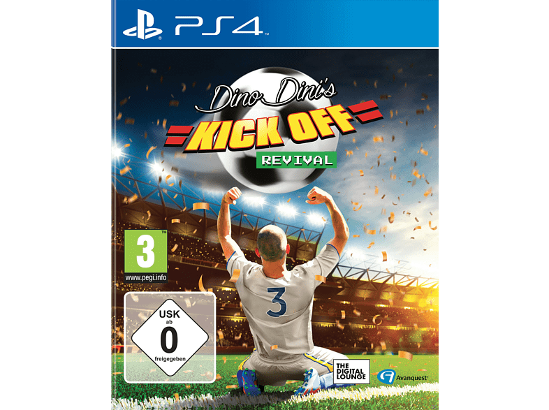 Dino Dinis Kick Off Revival [PlayStation 4]