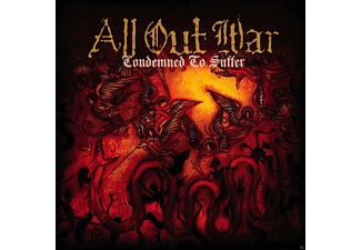 All Out War - Condemned To Suffer (Limited Orange Vinyl) - (Vinyl)