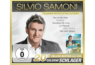 Silvio Samoni - 20 goldene Schlager-Deluxe E - (CD + DVD Video)
