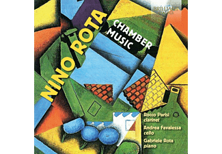 Rocco Parisi, Andrea Favalessa, Gabriele Rota - Chamber Music - (CD)