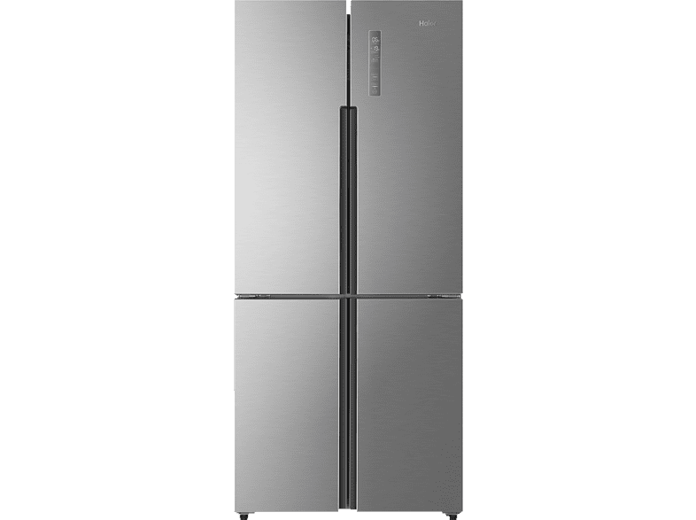 HAIER HTF-452DM7  Side-by-Side (303 kWh/Jahr, A++, 1900 mm hoch, Edelstahl)