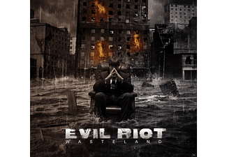 Evil Riot - Wasteland - (CD)