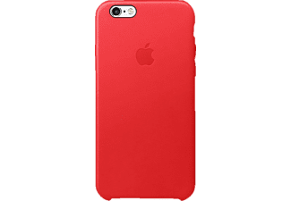 APPLE MKXX2ZM/A Backcover Apple iPhone 6s Echtleder/Mikrofaser Rot