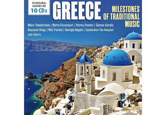 VARIOUS - Greece-Milestones Of Traditional Music - (CD)