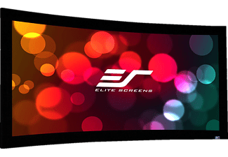 ELITE SCREENS CURVE135WH1 Rahmenleinwand