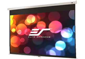 ELITE SCREENS M106XWH Rolloleinwand, Schwarz
