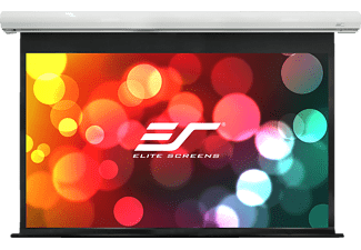 ELITE SCREENS SK120XHW-E20 Motorleinwand, Weiß