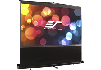 ELITE SCREENS F100NWV Mobileleinwand, Schwarz