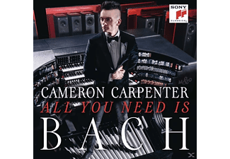 Cameron Carpenter - All You Need Is Bach [CD]