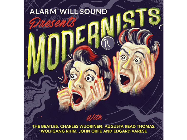 Alarm Will Sound - Alarm will Sound presents Modernists [CD]