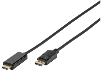VIVANCO HDMI - Displayport-kabel 1.8 m - Svart